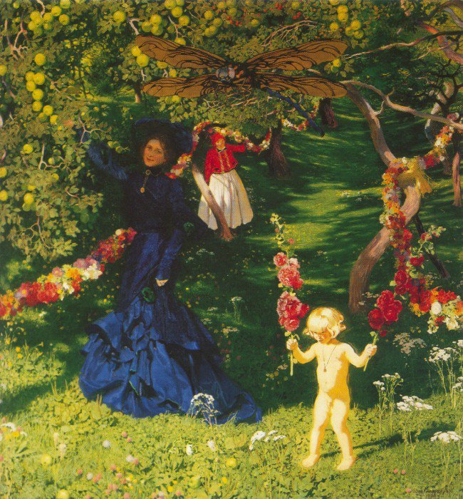 The Strange Garden 1903 | Jozef Mehoffer | Oil Painting