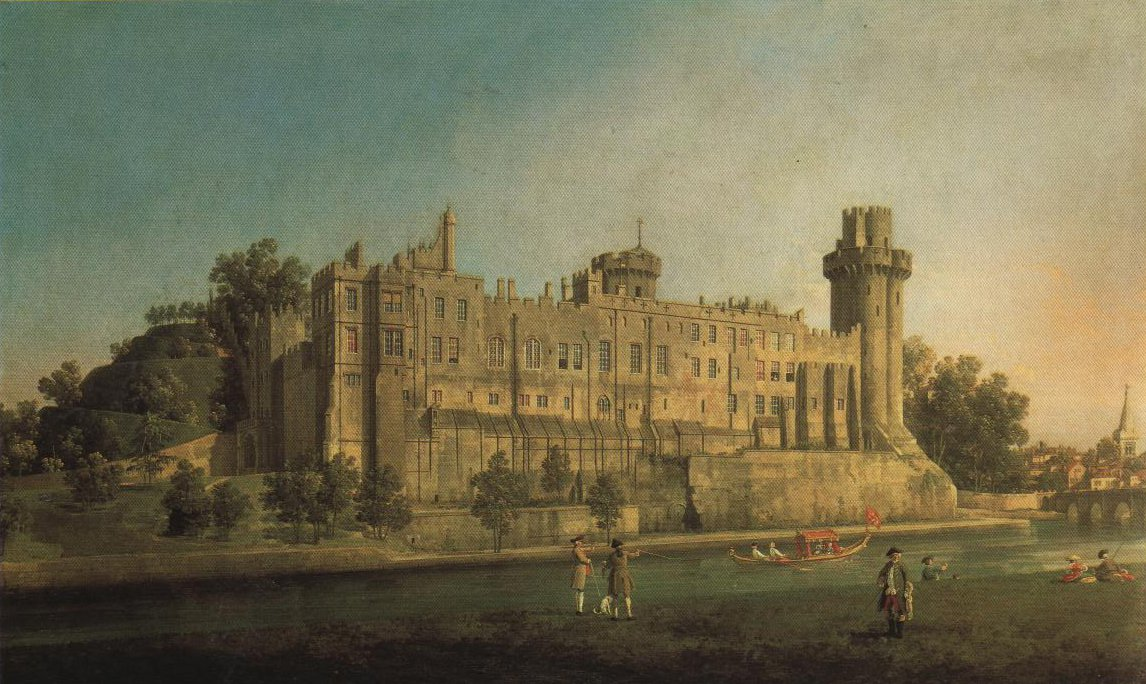 South Facade Of Warwick Castle | Canaletto | Oil Painting