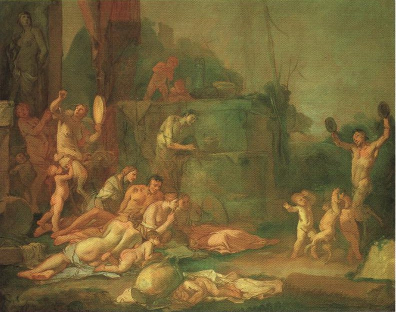 Bacchanal | Carpioni | Oil Painting