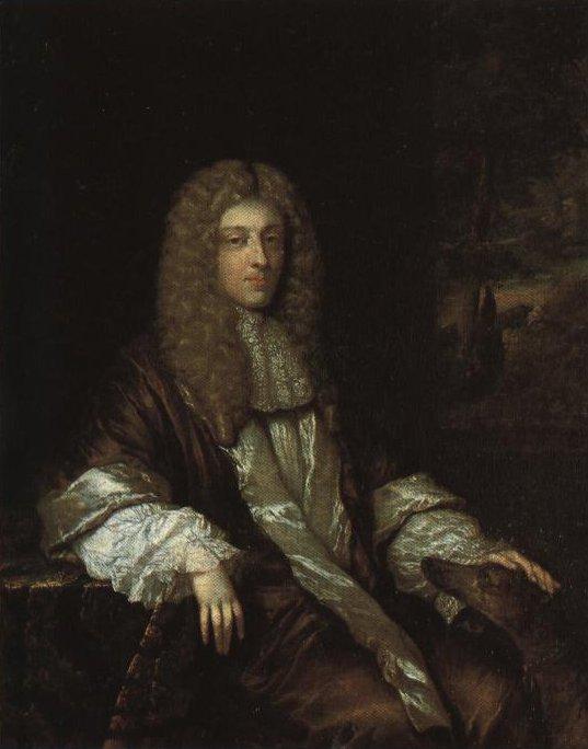 Portrait Of A Man | Caspar Netscher | Oil Painting