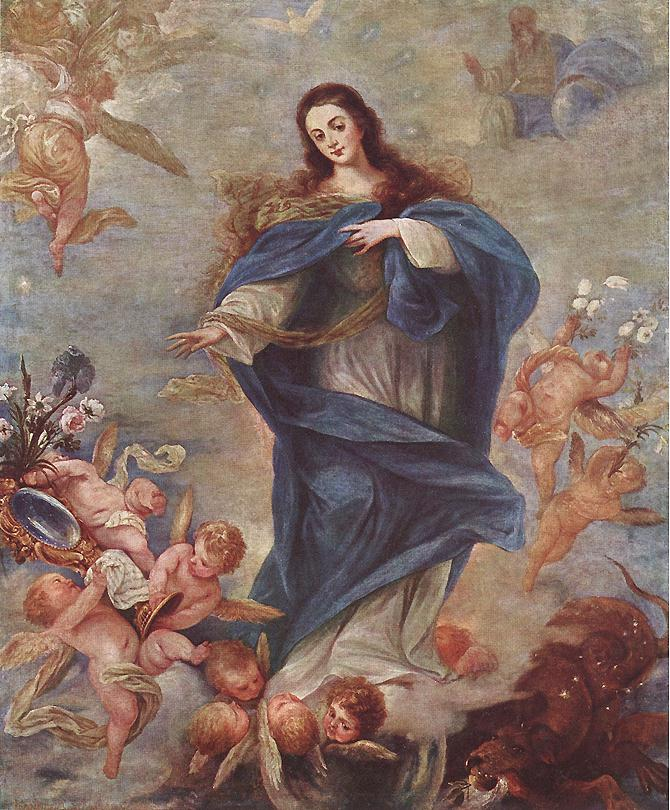 Immaculate Conception 1663 | Juan Antonio Escalant | Oil Painting