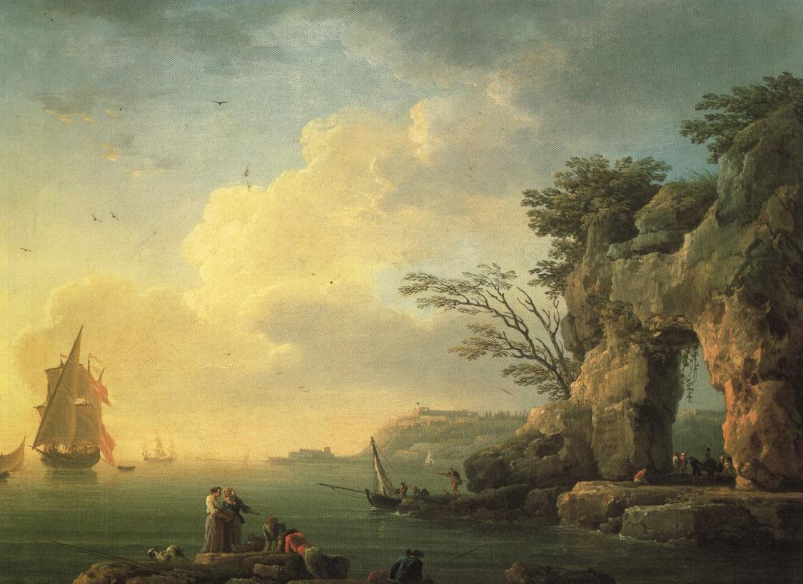 A Calm Sea | Claude Joseph Vernet | Oil Painting