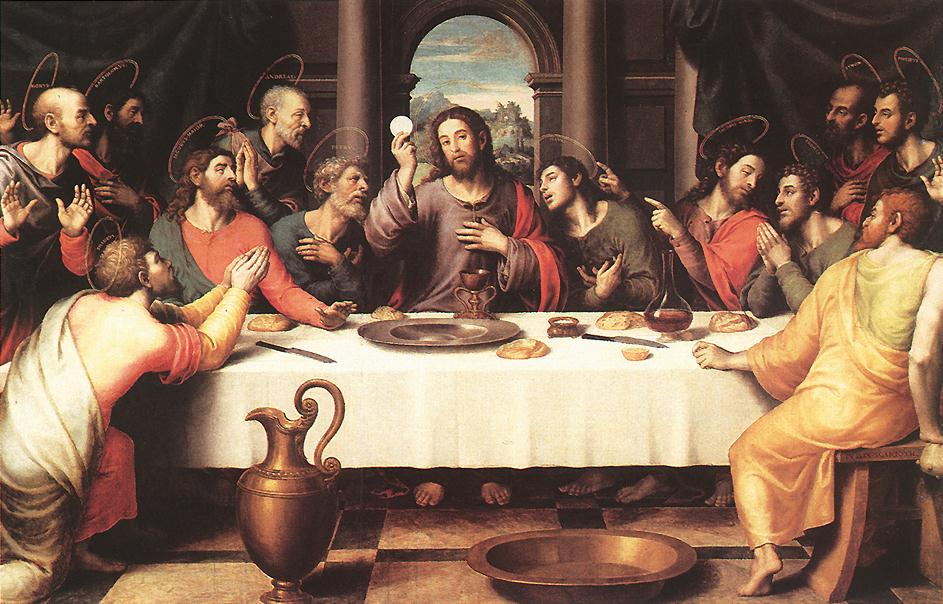 The Last Supper 1560s | Juan De Juanes | Oil Painting