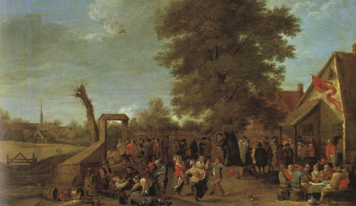 The Village Fete | David Teniers Ii | Oil Painting