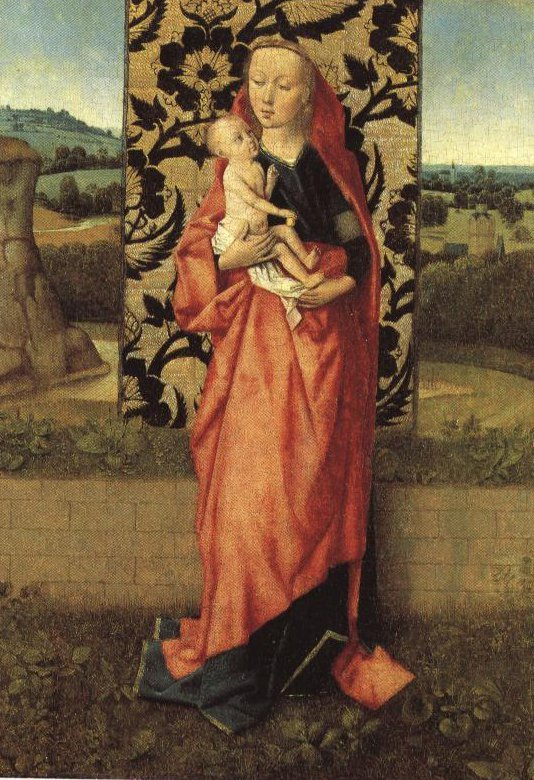 Virgin And Child | Dieric Bouts | Oil Painting