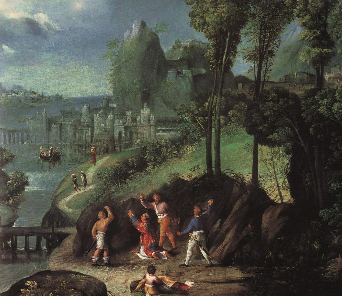 The Stoning Of St Stephen | Doso Dossi | Oil Painting