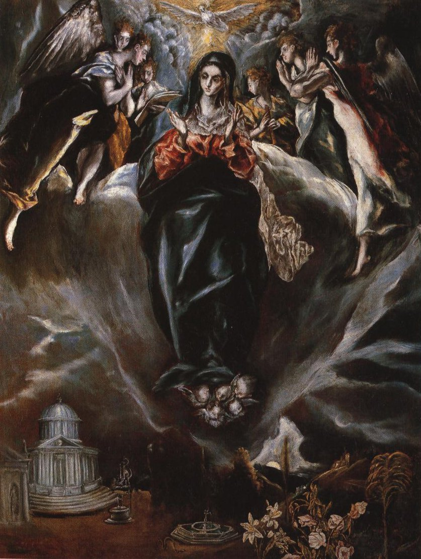 The Immaculate Conception | El Greco | Oil Painting