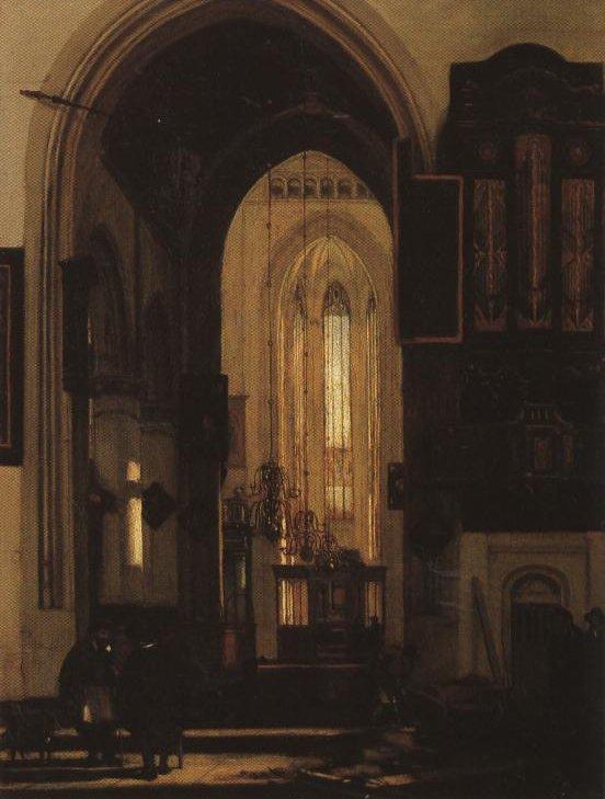 Church Interior | Emanuel De Witte | Oil Painting