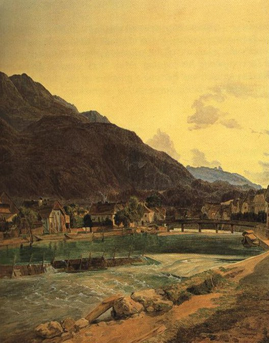 Bad Ischl | Ferdinand Waldmuller | Oil Painting