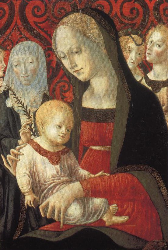 Madonna And Child With St Catherine And Angels | Francesco Di Giorgio Martini | Oil Painting