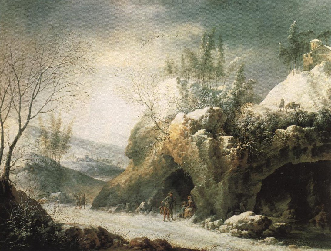 Winter Landscape In The Apennines | Francesco Foschi | Oil Painting