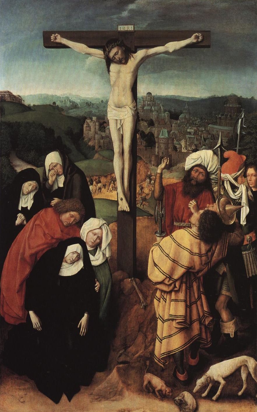 Crucifixion | Gerard David | Oil Painting