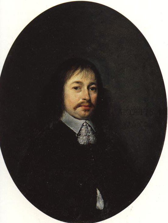 Portrait Of A Man Aged Forty Two   Gerard Terborch   Oil Painting