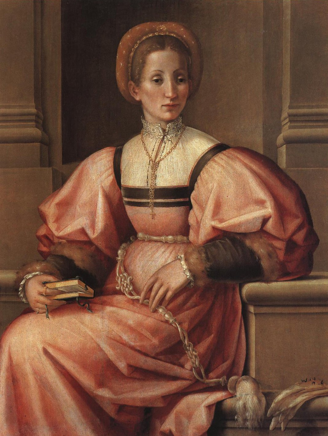 Portrait Of A Lady   Foschi   Oil Painting