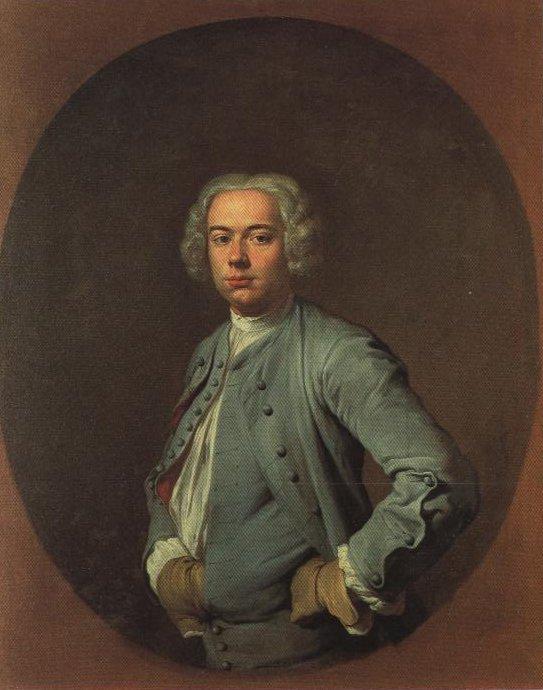 Portrait Of A Man   Giacomo Ceruti   Oil Painting