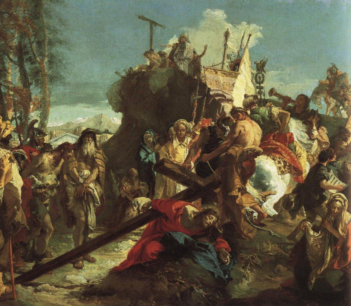 The Way To Golgotha | Giambattista Tiepolo | Oil Painting