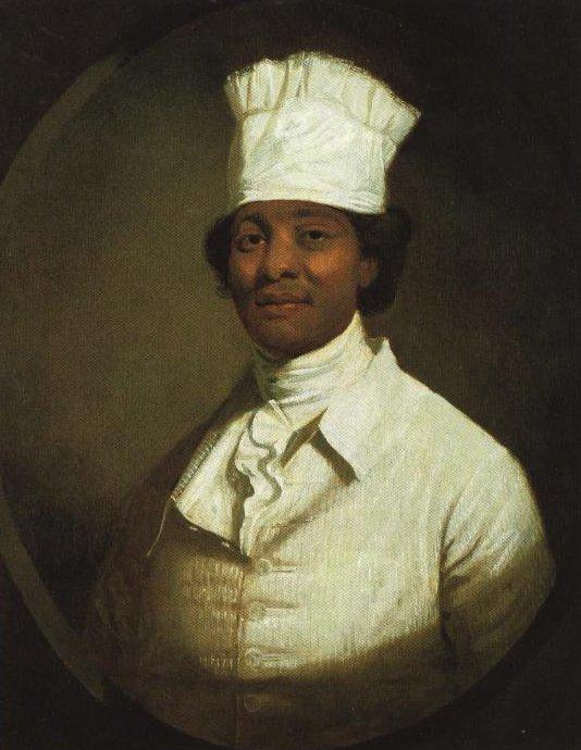 Portrait Presume Du Cuisinier De George Washington | Gilbert Stuart | Oil Painting