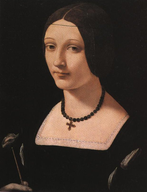 Portrait Of A Lady As St Lucy   Giovanni Antonio Boltraffio   Oil Painting