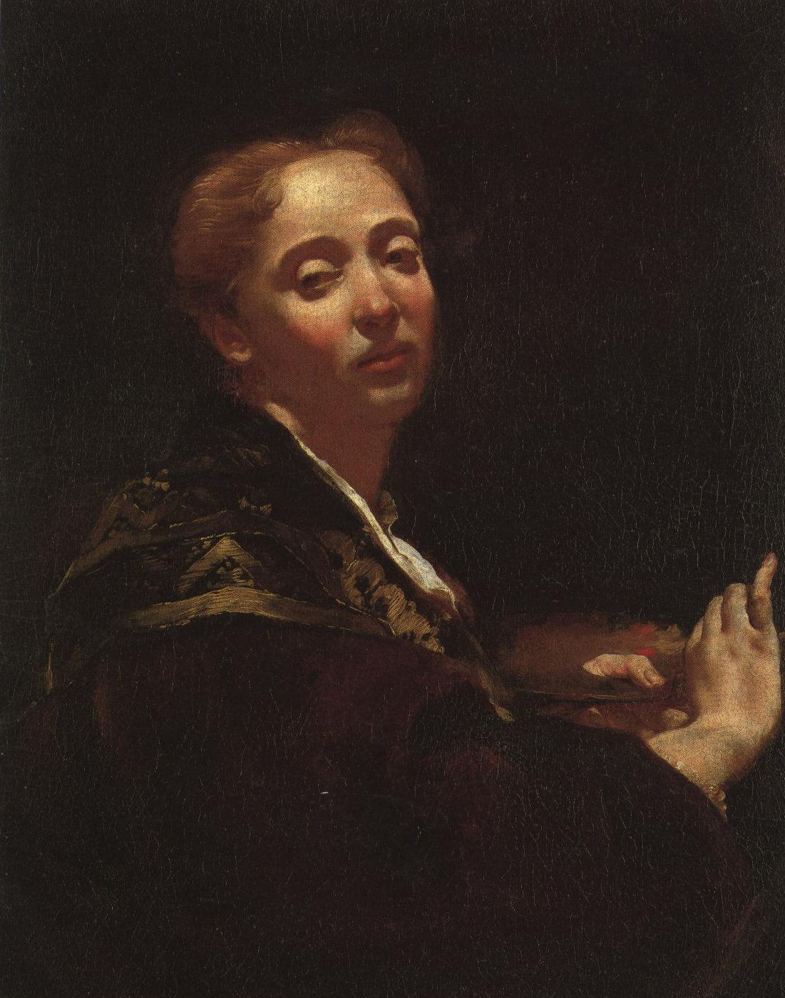Portrait Of Giulia Lama | Giovanni Battista Piazzetta | Oil Painting