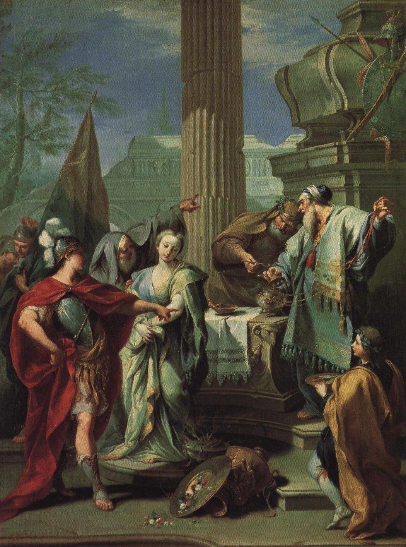 The Sacrifice Of Polyxena | Giovanni Battista Pittoni | Oil Painting
