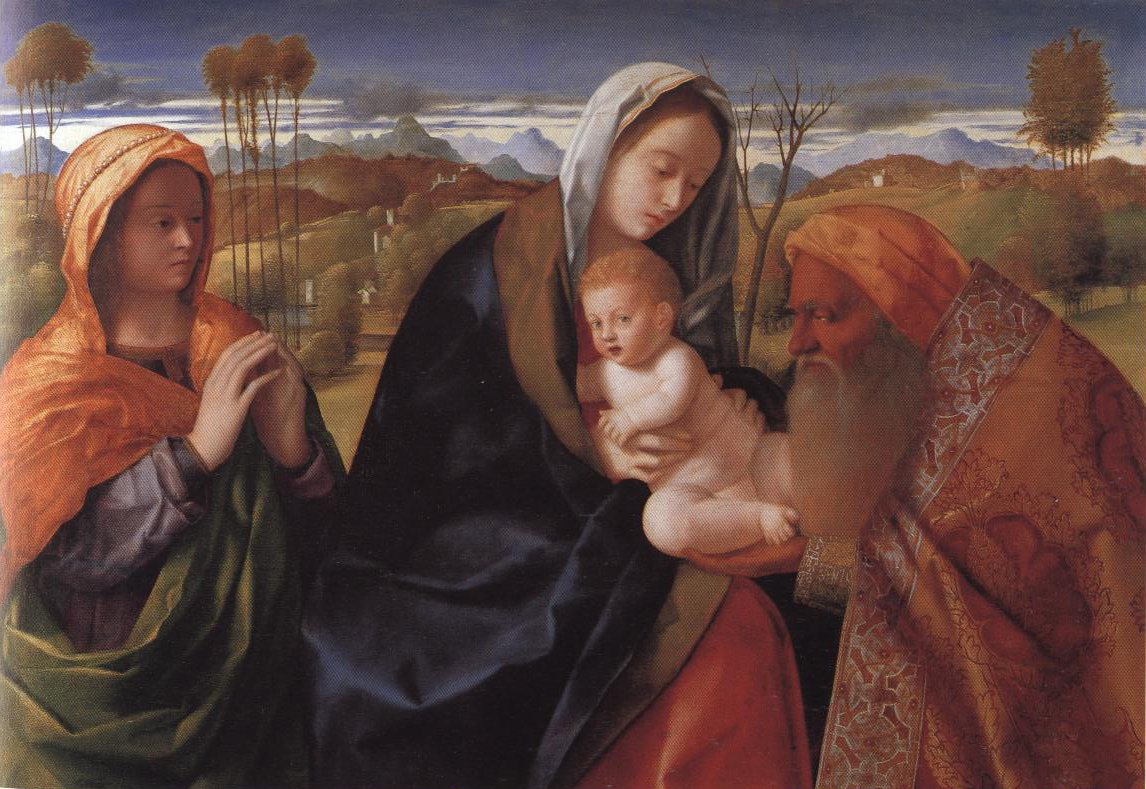 Nunc Dimittis | Giovanni Bellini | Oil Painting