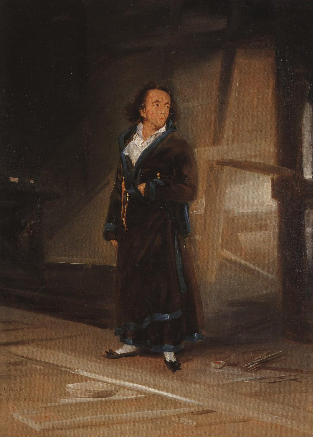 Asensio Julia In His Studio | Goya | Oil Painting