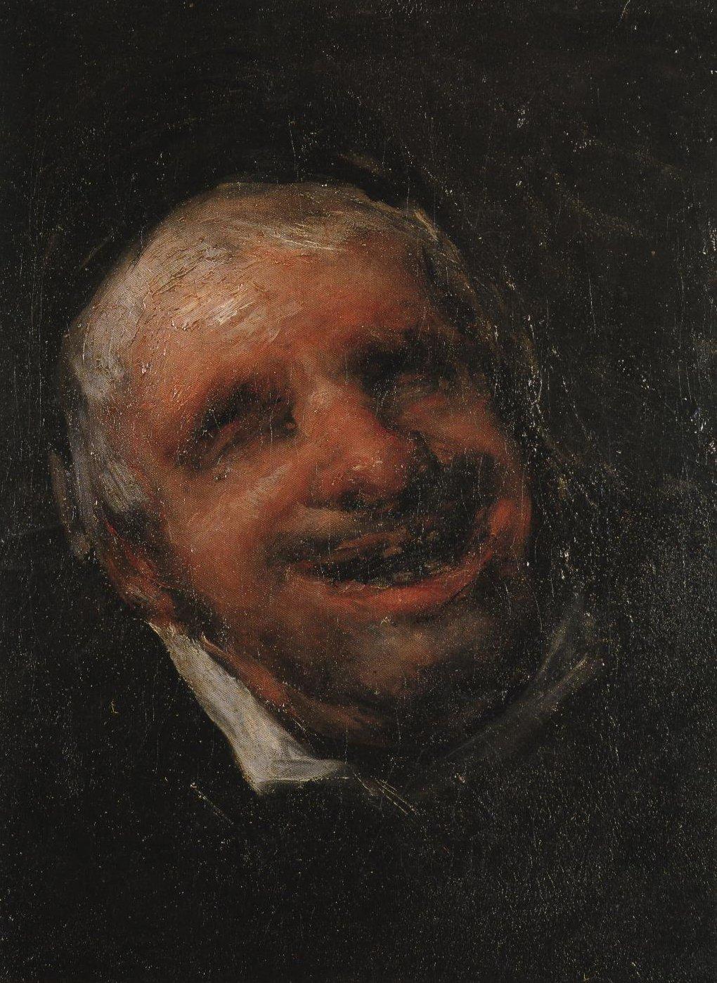 El Tio Paquete | Goya | Oil Painting
