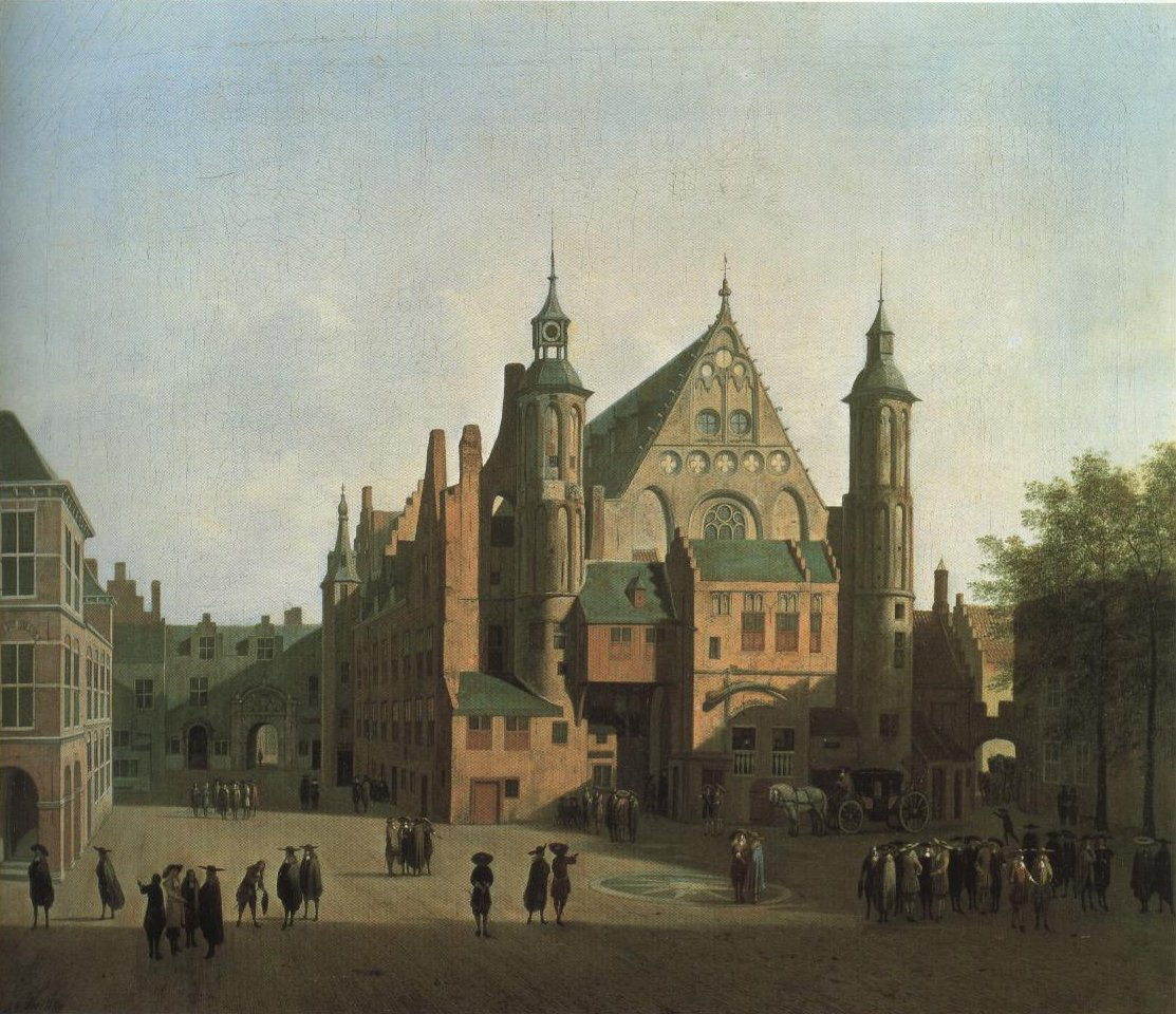 View Of The Binnenhof The Hague | Gerrit Adriaensz Berckheyde | Oil Painting