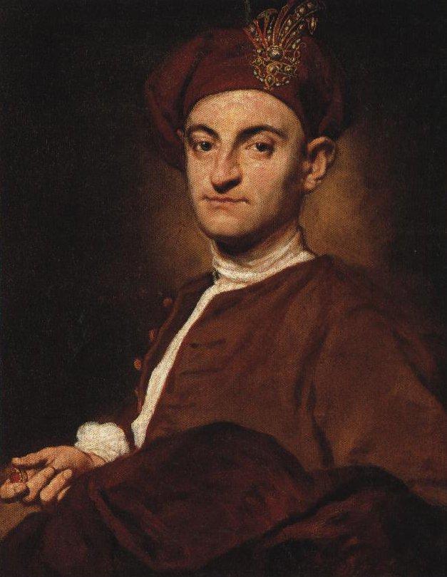 Portrait Of A Jeweller   Ghislandi   Oil Painting