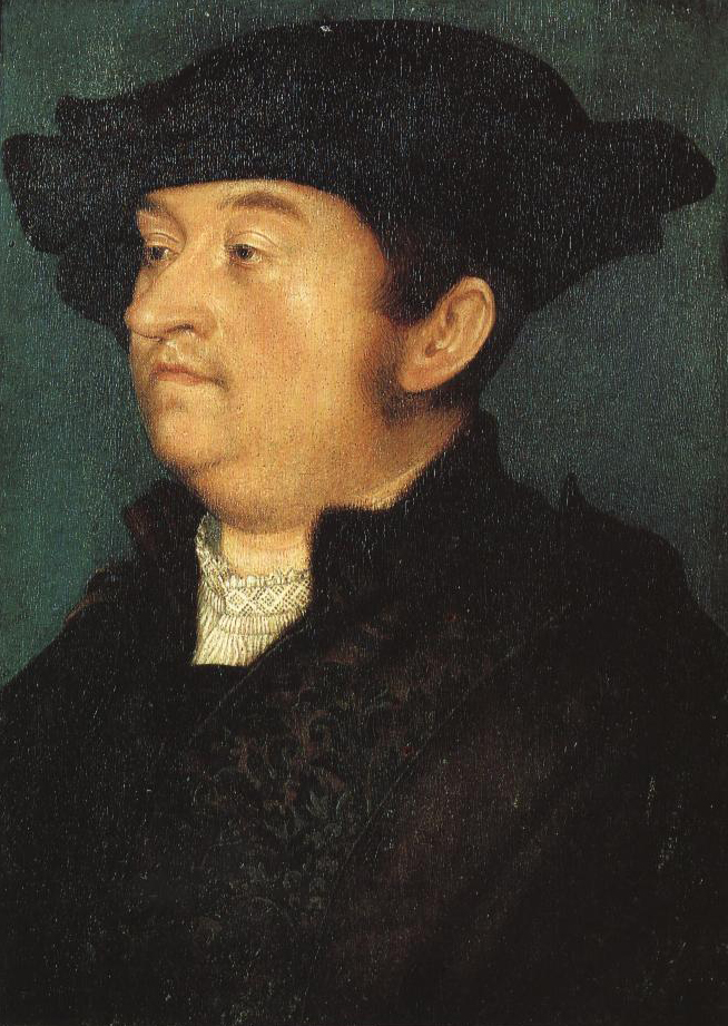 Portrait Of A Man | Hans Holbein The Elder | Oil Painting