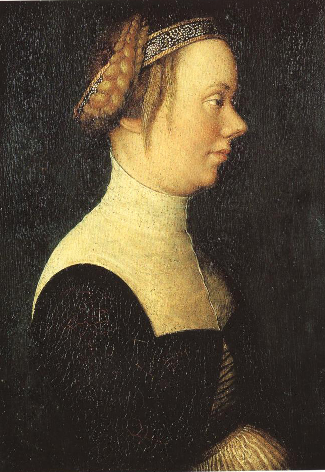 Portrait Of A Young Woman | Hans Holbein The Elder | Oil Painting