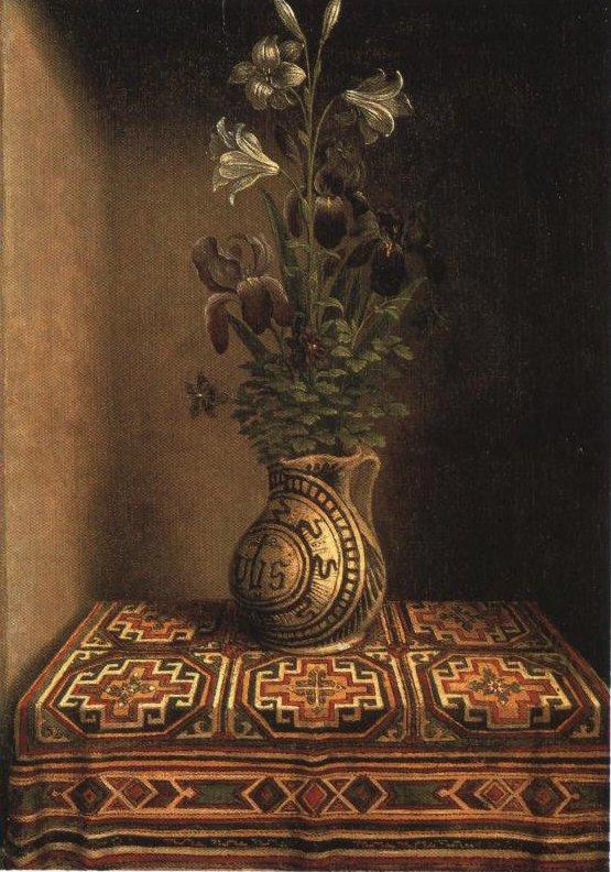 Marian Flowerpiece | Hans Memling | Oil Painting