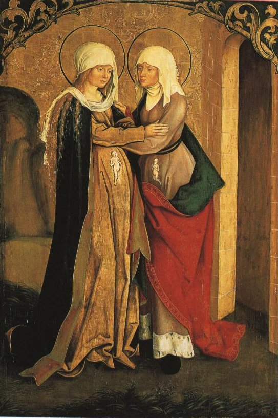 The Visitation | Hans Or Jakob Strub | Oil Painting