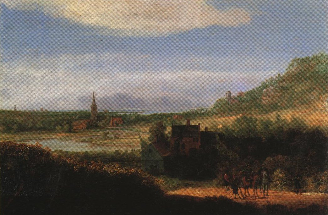 Extensive Landscape With Armed Men | Hercules Pietersz Seghers | Oil Painting