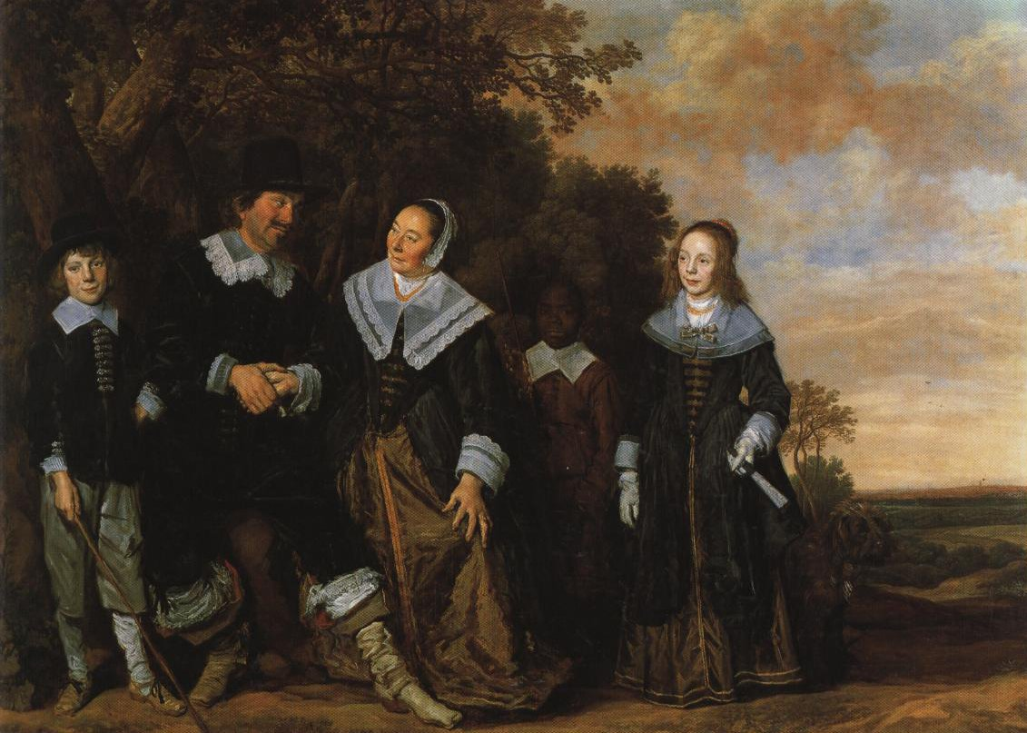Family Group In A Landscape | Frans Hals | Oil Painting