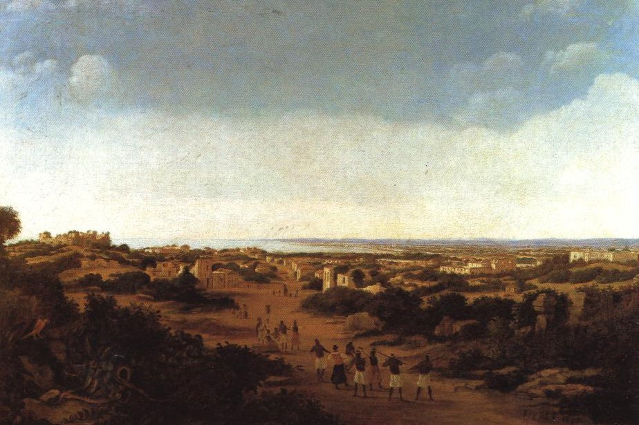 View Of The Ruins Of Olinda Brazil | Frans Jansz Post | Oil Painting