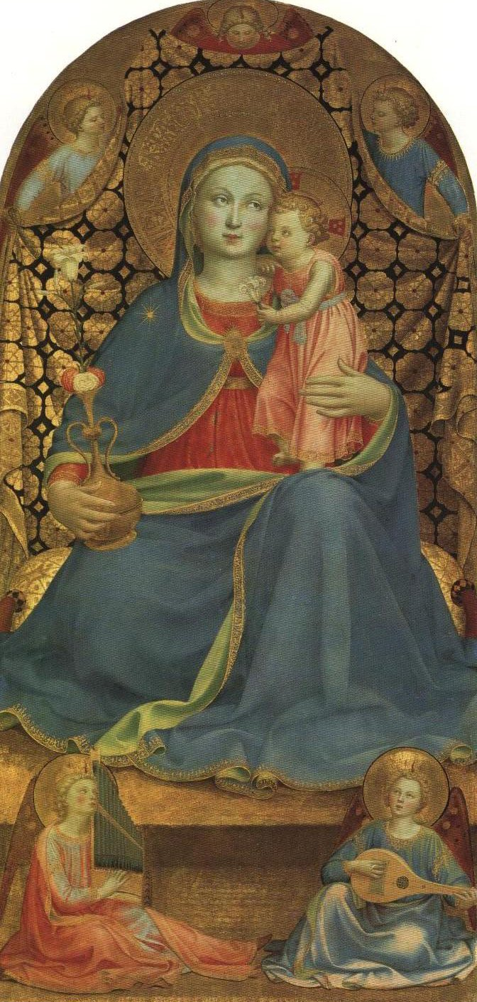 The Madonna Of Humility | Fra Angelico | Oil Painting