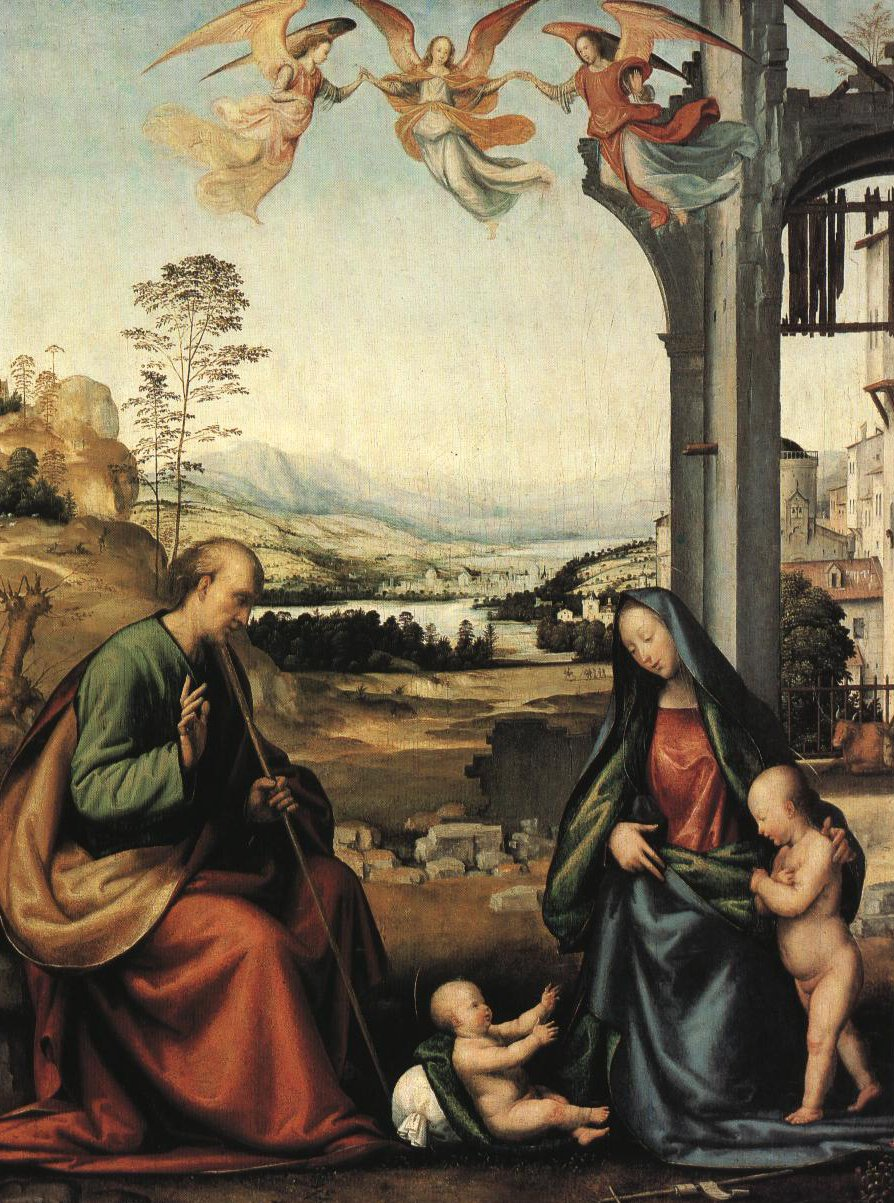 Holy Family With The Infant St John | Fra Bartolomeo | Oil Painting
