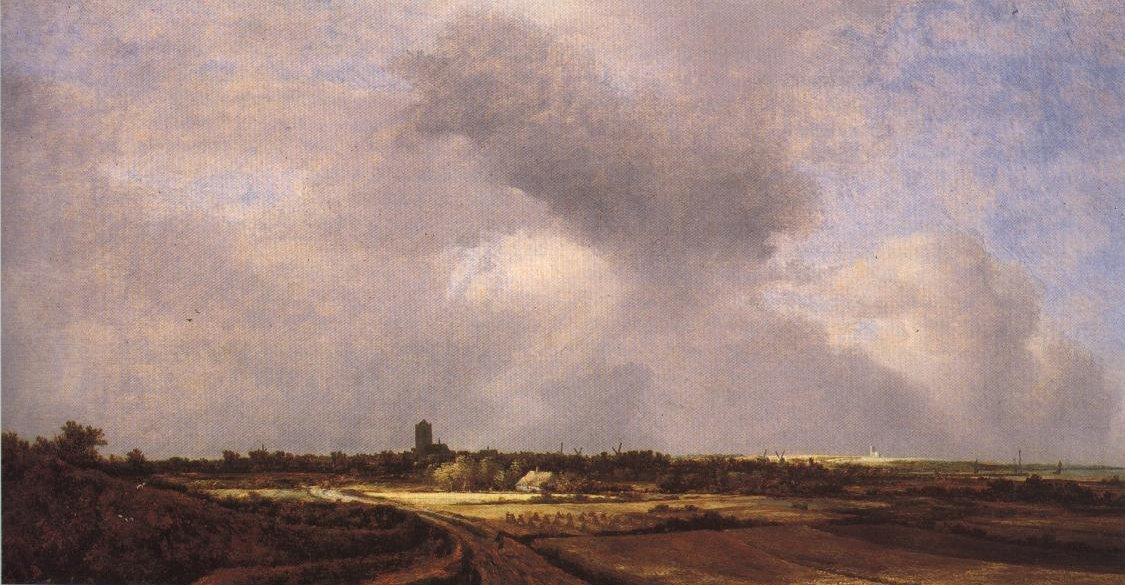 View Of Naarden | Jacob Isaacksz Van Ruisdael | Oil Painting