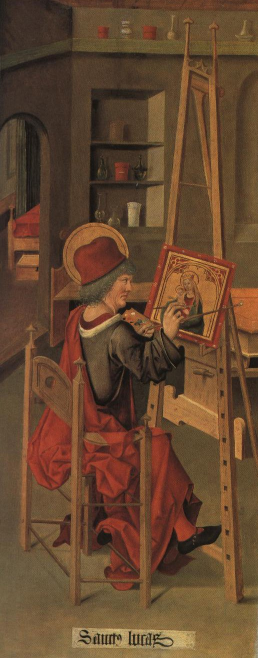 St Luke Painting The Madonna | Gabriel Malesskircher | Oil Painting