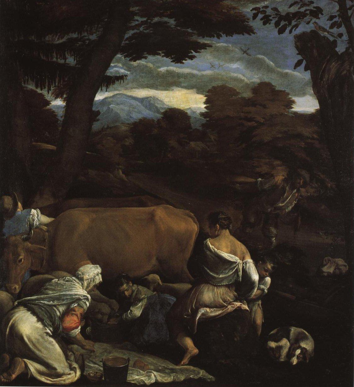 Pastoral Landscape | Jacopo Bassano | Oil Painting