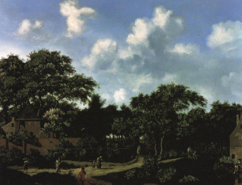 Crossroad In A Wood | Jan Jansz Van Der Heyden | Oil Painting