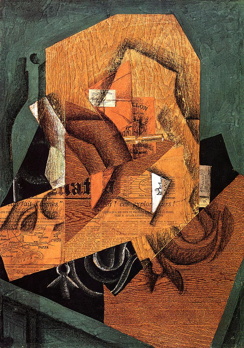 The Packet of Coffee 1914 | Juan Gris | Oil Painting
