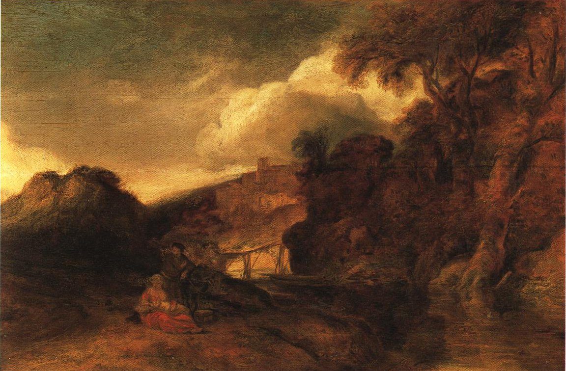Landscape With The Rest On The Flight Into Egypt | Jan Lievens | Oil Painting