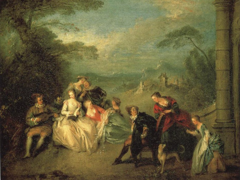 Concert Champetre | Jean Baptist Pater | Oil Painting