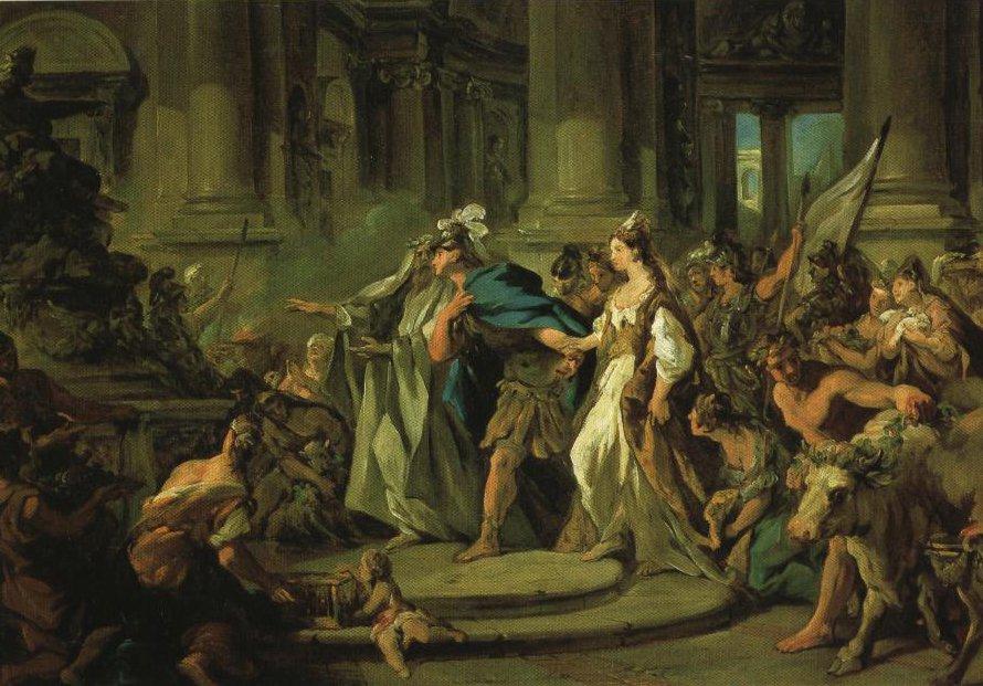Le Mariage De Jason | Jean Francois De Troy | Oil Painting
