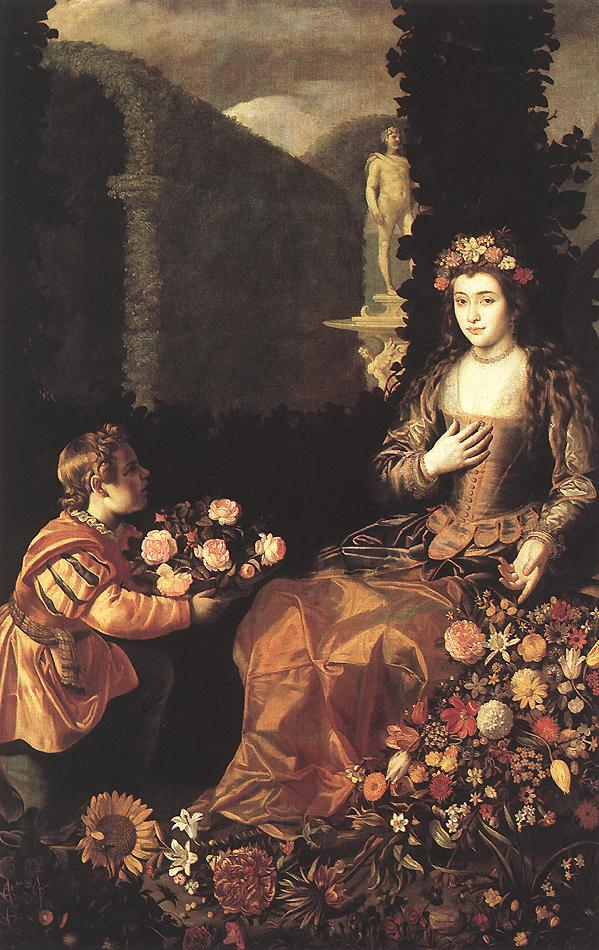 Flora 1627 | Juan Van Der Hamen | Oil Painting