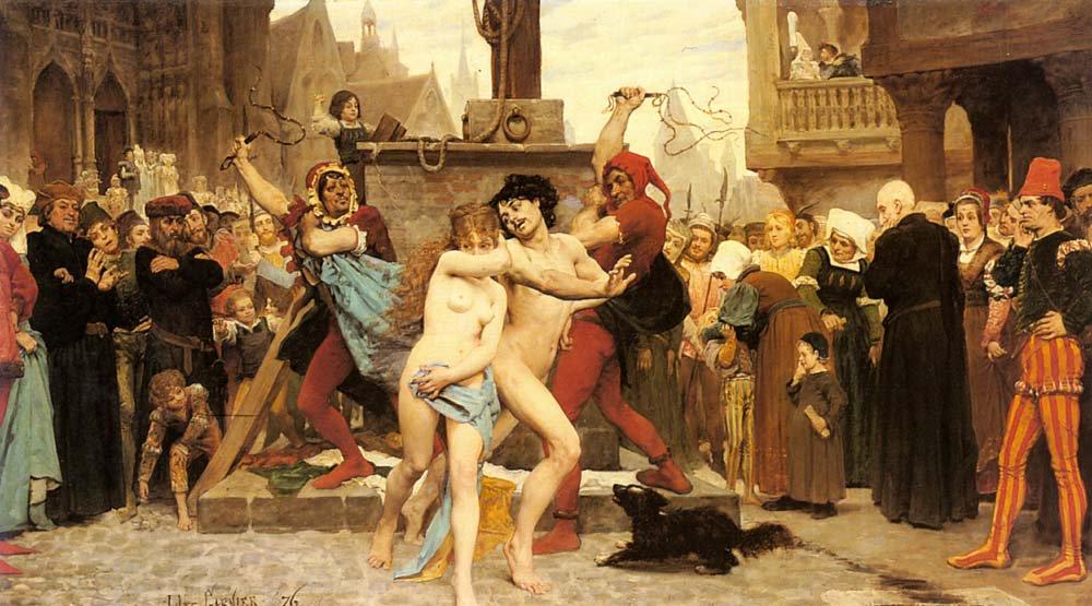 Le Supplice des Adulteres | Jules Arsene Garnier | Oil Painting