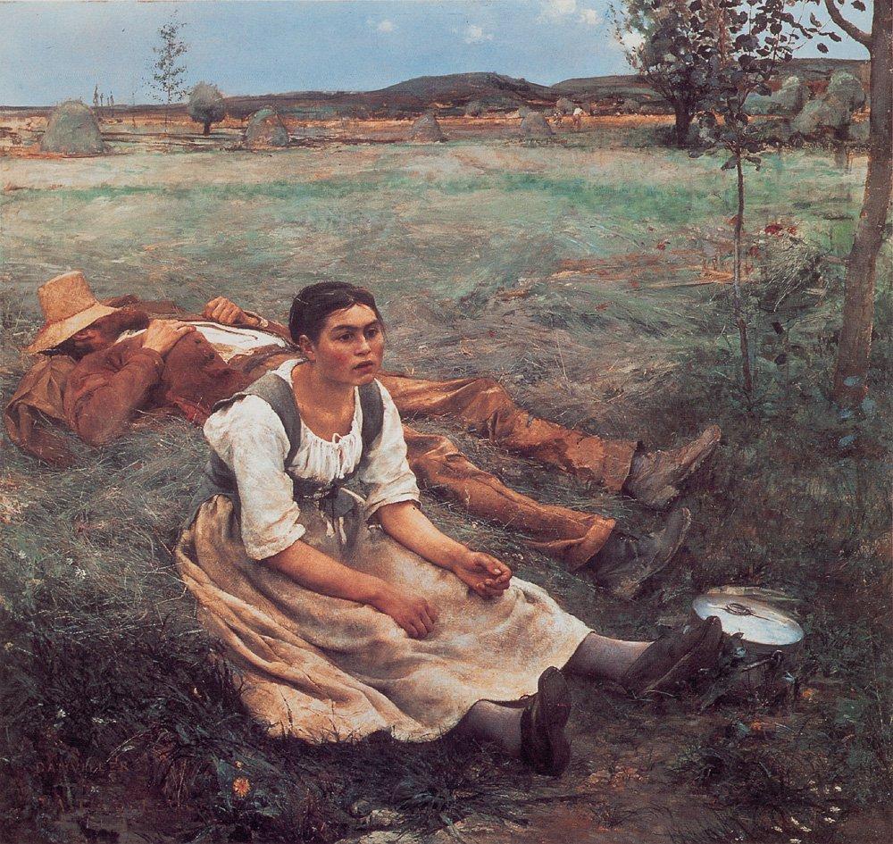 Les Foins | Jules Bastien Lepage | Oil Painting