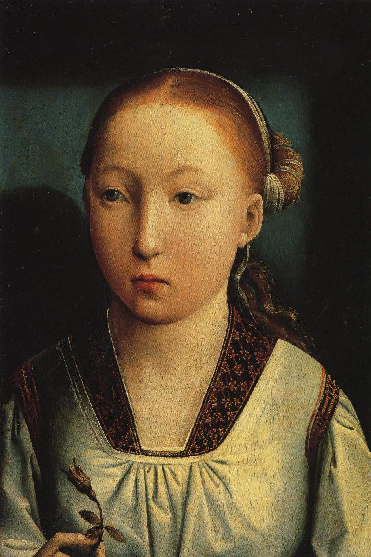 Portrait Of An Infanta Catherine Of Aragon | Juan De Flandes | Oil Painting